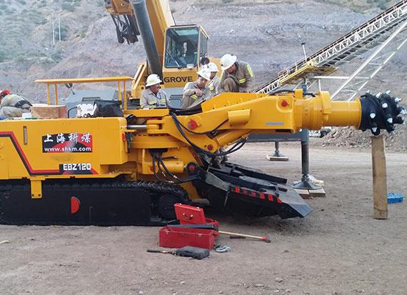 墨西哥铜矿施工